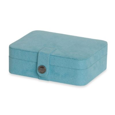 Mele & Co. Giana Jewelry Box in Aqua