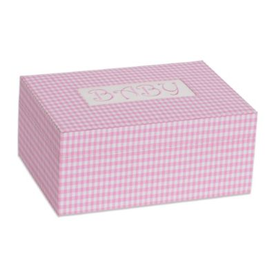 Mele & Co. Darby Baby Memories Keepsake Box in Pink