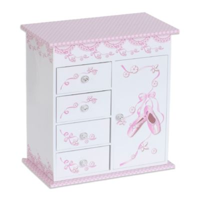 Mele & Co. Carly Musical Ballerina Jewelry Box