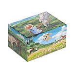 Mele & Co. Apple Horse Musical Jewelry Box