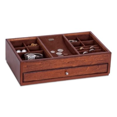 Mele & Co. Landon Wooden Dresser Top Valet