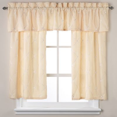 Wellington Window Valance in Yellow