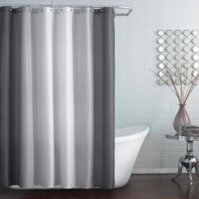 Blaire Extra-Long 72-Inch x 96-Inch Shower Curtain in Grey