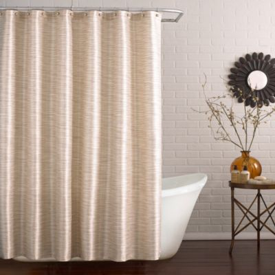 Deron 54-Inch x 78-Inch Stall Shower Curtain in Marble