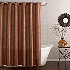 Deron Stall Shower Curtain in Vermillion