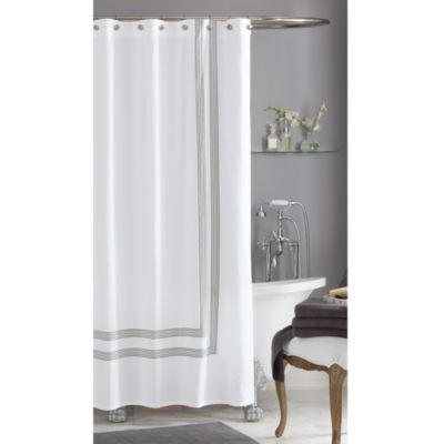 Wamsutta® Bourbon 54-Inch x 78-Inch Shower Curtain
