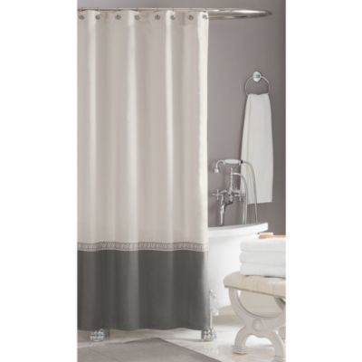 Wamsutta® Greek Key 74-Inch x 84-Inch Shower Curtain