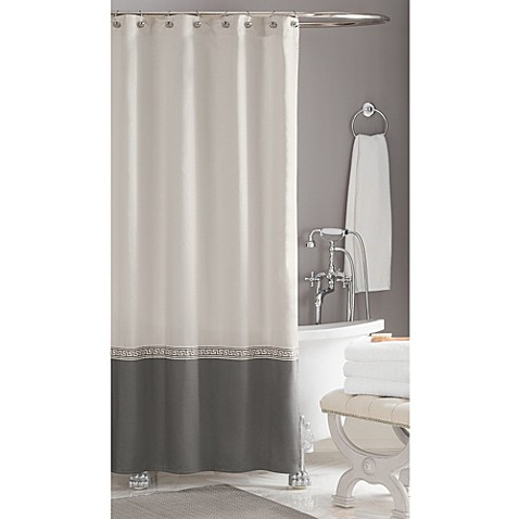 Wamsutta 174 Greek Key Hotel Shower Curtain Www