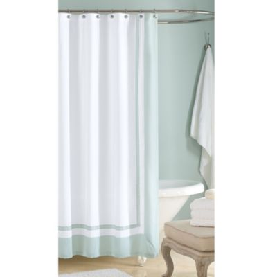 Wamsutta® 54-Inch x 78-Inch Hotel Shower Curtain in Aqua