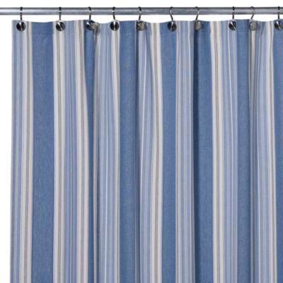 Blue Savannah 54-Inch x 78-Inch Shower Curtain
