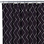 Wellington Shower Curtain in Black/White