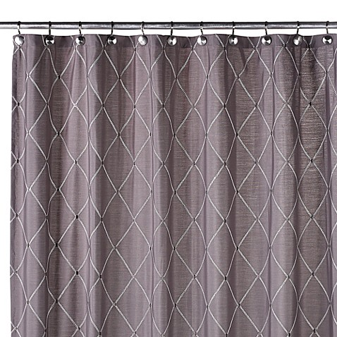 Buy Wellington Shower Curtain In Grey From Bed Bath Amp Beyond