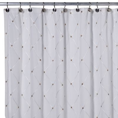 Wellington 54-Inch x 78-Inch Stall Panel Shower Curtain