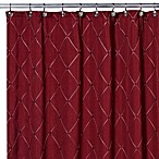 Wellington Shower Curtain in Wine