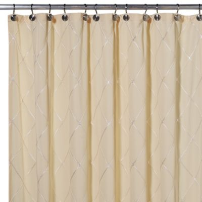 Wellington 70-Inch x 72-Inch Shower Curtain in Yellow