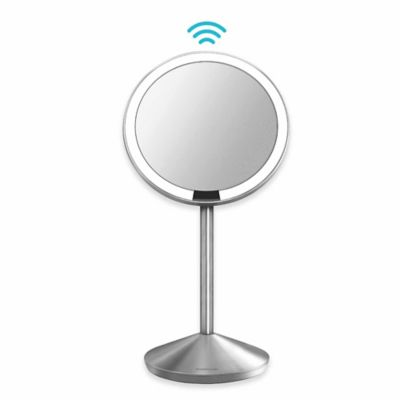 simplehuman® 10X Mini Sensor Travel Mirror