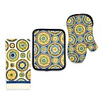 Suzani Print Kitchen Accessories in Blue