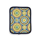 Suzani Print Pot Holder in Blue