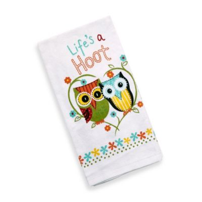 Kay Dee Designs Life's A Hoot Kitchen Towel
