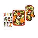 Veggie Cans Print Kitchen Towel and Accessories