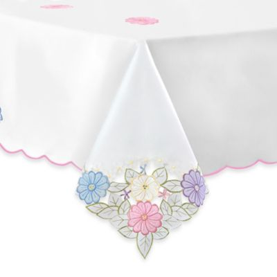 Jasmine 52-Inch x 70-Inch Tablecloth