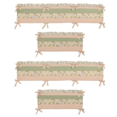 Sweet Jojo Designs Annabel 4-Piece Crib Bumper Set