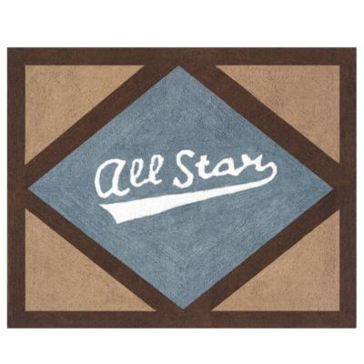 Sweet Jojo Designs All Star Sports Floor Rug