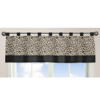 Baby Safari Window Valance