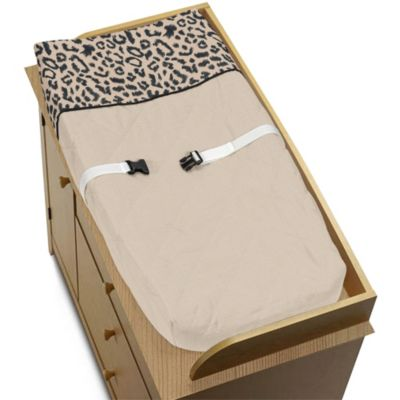 Sweet Jojo Designs Animal Safari Changing Pad Cover
