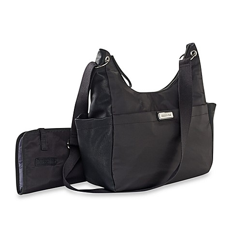 buy kenneth cole reaction all in one large hobo diaper bag in black from bed bath beyond. Black Bedroom Furniture Sets. Home Design Ideas