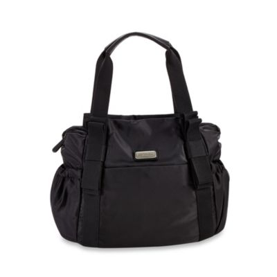 Kenneth Cole Reaction Bow To It Large Tote Diaper Bag in Black