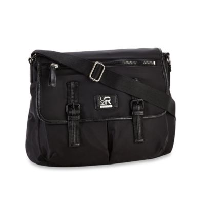 Kenneth Cole Reaction® Cornelia Street Messenger Diaper Bag in Black
