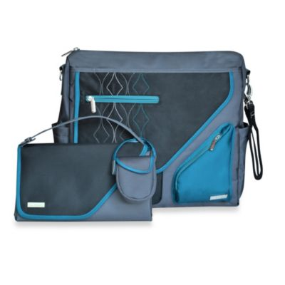 JJ Cole® Metra Bag in Blue Diamond
