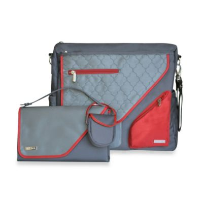 JJ Cole® Metra Bag in Crimson Arbor