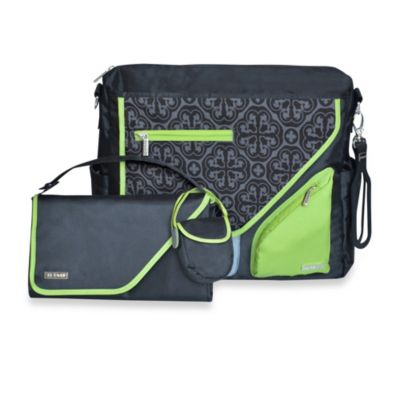 JJ Cole® Metra Bag in Midnight Clover
