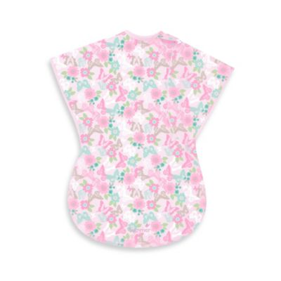 Summer Infant® Small ComfortMe™ Wearable Blanket in Purple Floral
