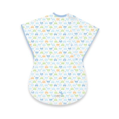 Summer Infant® Small ComfortMe™ Wearable Blanket in Blue Cars