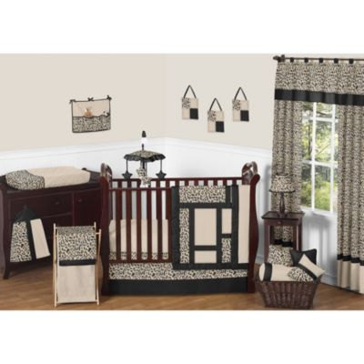 Sweet Jojo Designs Animal Safari 11-Piece Crib Bedding Set