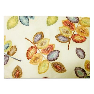 Croscill® Mosaic Leaves 13-Inch x 19-Inch Placemat