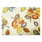 Croscill Mosaic Leaves 13-Inch x 19-Inch Placemat