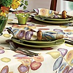 Croscill Mosaic Leaves 18-Inch x 18-Inch 4-Piece Napkin Set