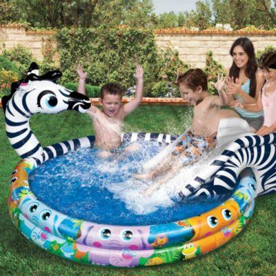 Spray N Splash Zebra Pool