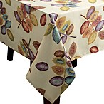 Croscill Mosaic Leaves Tablecloth