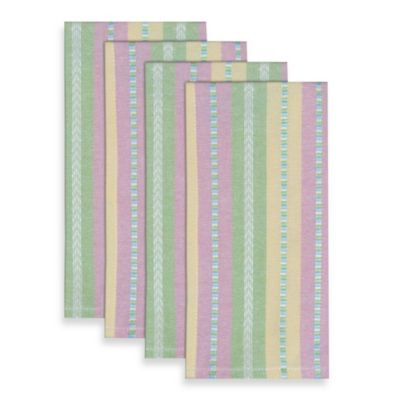 Garden Stripe Woven Napkin (Set of 4)