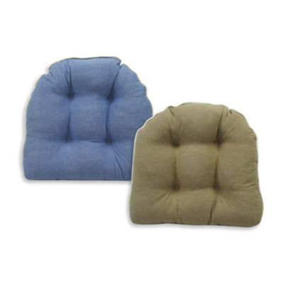 Newport Montauk Chair Pad in Denim