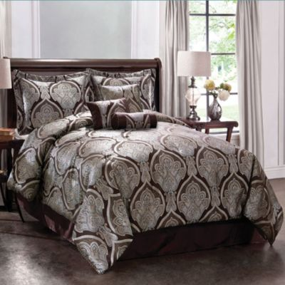 Grandview Collection 7-Piece Queen Comforter Set