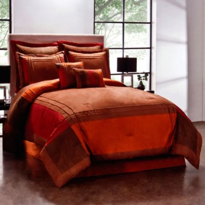 Redwood Khaki Queen Comforter Set