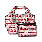 Design House LA™ Cherry Reusable Shopping Bag and Lunch Cooler