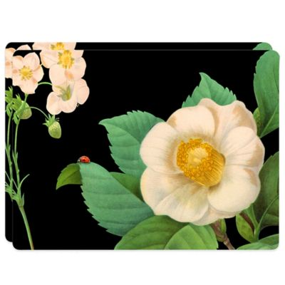 Design House LA™ Botanical Hardboard Placemats (Set of 2)