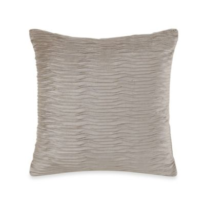 Charisma Carrington Mink Decorative 18-Inch Square Toss Pillow